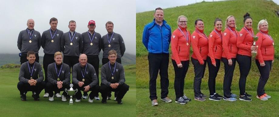 Íslandsmót golfklúbba: Karla og kvenna sveitir GL