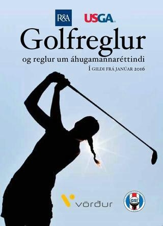Golfreglu- og fræðslukvöld 22. maí 2018