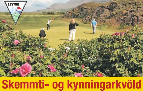 Skemmti- og kynningarkvöld 31.maí 2018