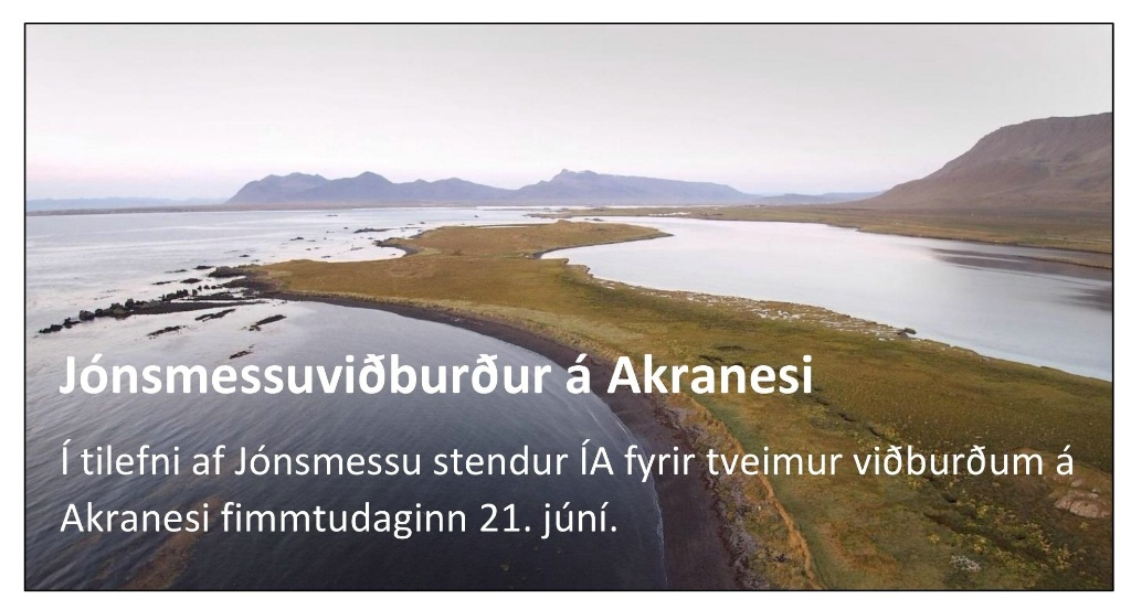 Jónsmessuviðburðir ÍA á Akranesi 2018
