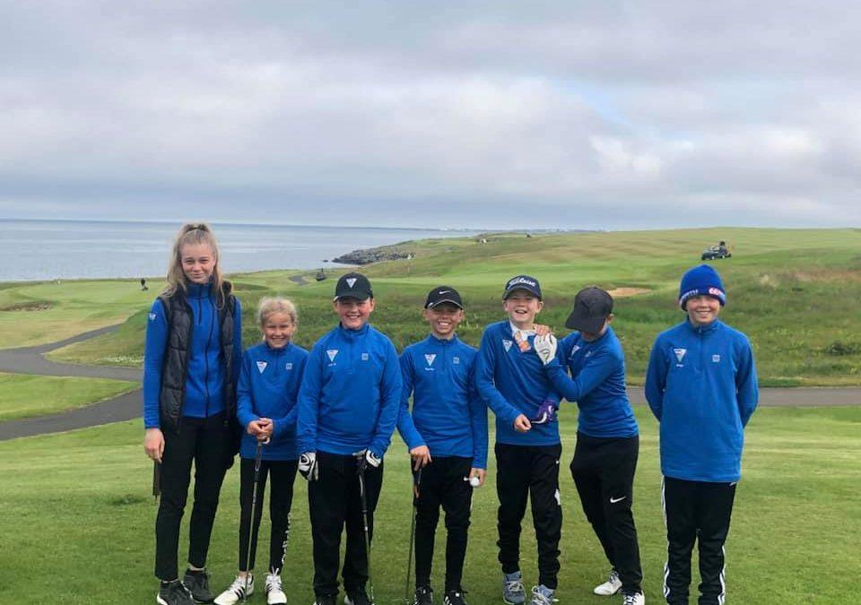 Sveit GL 12 ára og yngri stóð sig vel á Íslandsmóti golfklúbba
