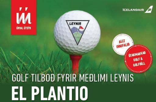 Golf á Spáni – tilboð fyrir félagsmenn GL