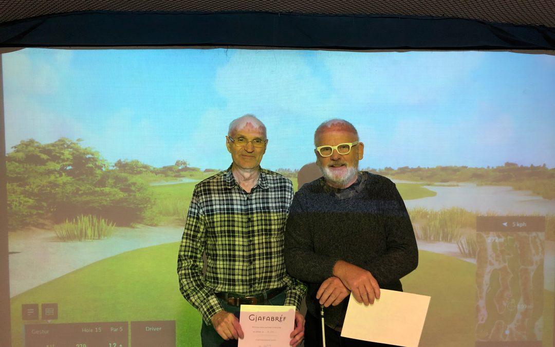 Vetrarmótaröðin 2019 í golfhermi – úrslit